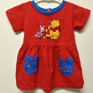 Pooh's Playtime Little Girls Dress size 6 months